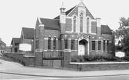 Bicester, Methodist Church c.1960