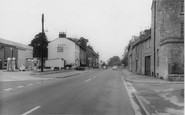 Bicester, Oxford Road c.1960