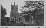 Bicester, Parish Church Of St Edburg c.1965
