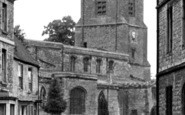 Bicester, St Edburg's Church 1950