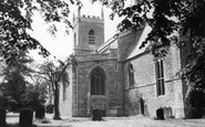 Bicester, St Edburg's Church c.1965