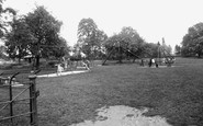Bicester, The Children's Playground, The Garth c.1960