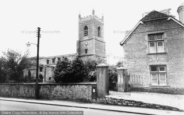 Bicester, The Parish Church Of St Edburgh c.1960