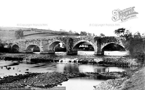 Bickleigh, Bridge 1890