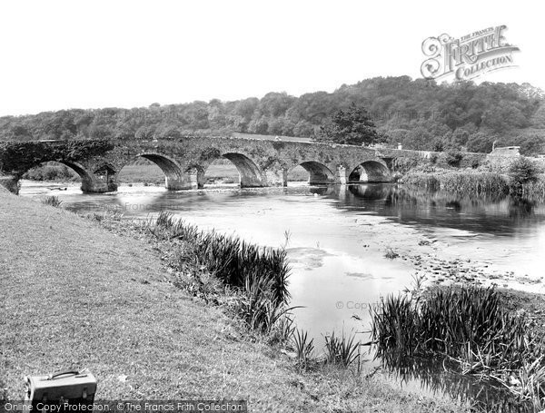 Bickleigh, Bridge And River Exe 1930