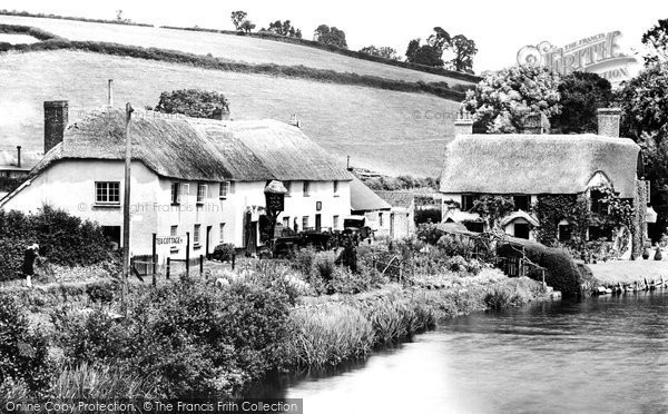 Bickleigh, The River Exe And The New Inn 1930