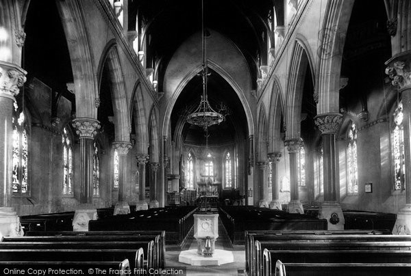Bickley, Church Interior 1899