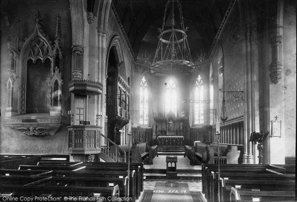 Bickley, Church Interior 1899