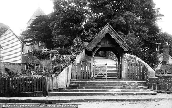 Bidborough, St Lawrence Lychgate 1896
