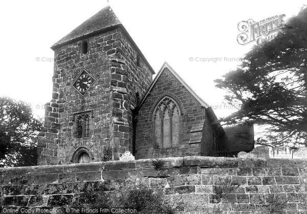 Bidborough, St Lawrence's Church 1896