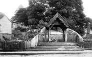 Bidborough, St Lawrence's Lychgate 1896