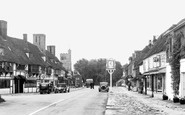 Biddenden, High Street c.1950