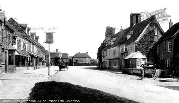 Biddenden, The Village 1901