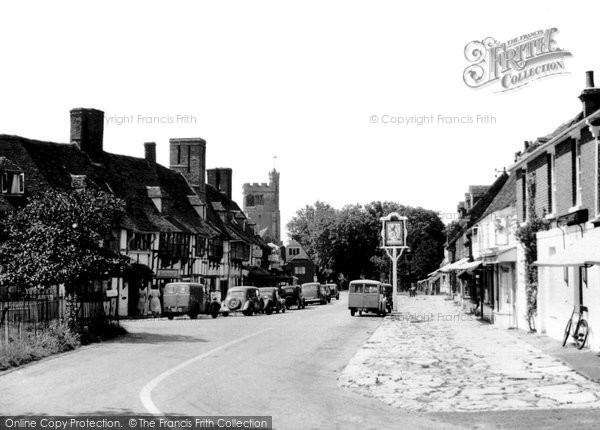 Biddenden, The Village c.1955
