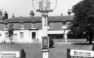 Biddenden, Village Sign c.1955