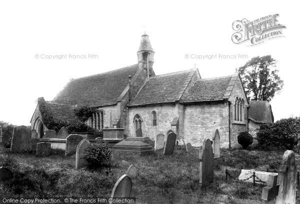 Biddestone, St Nicholas's Church 1904