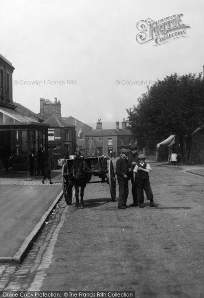 Biddulph, Boys In Bradley Green 1902