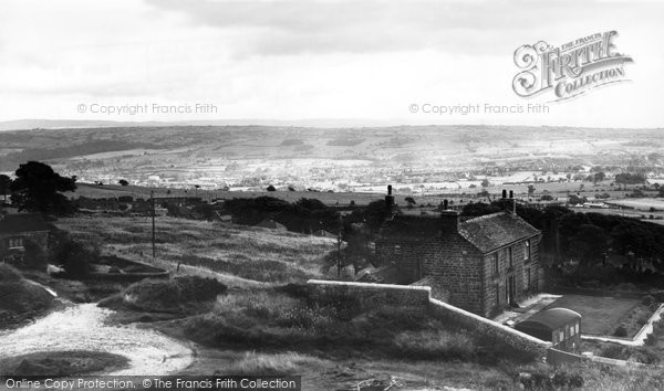 Biddulph, From The Castle c.1960