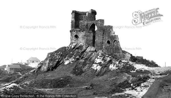 Biddulph, Mow Cop Castle c.1955