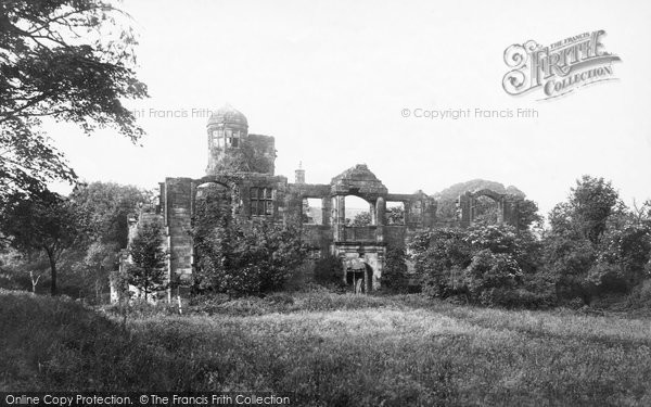 Photo of Biddulph, Old Hall 1898