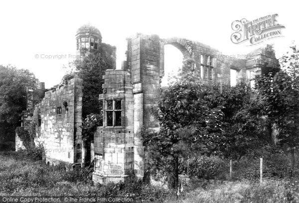 Biddulph, Old Hall 1898