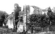 Biddulph, Old Hall 1898