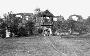 Biddulph, Old Hall 1902