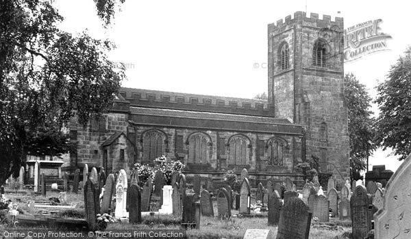 Biddulph, St Lawrence's Church c.1955