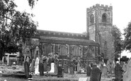 Biddulph, St Lawrence's Church c.1955