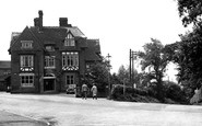 Biddulph, the Biddulph Arms Hotel c1955