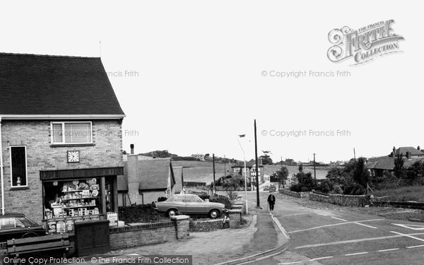 Biddulph, Woodhouse Lane c.1965