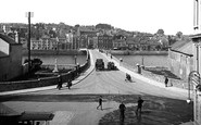 Bideford, Bridge c.1925