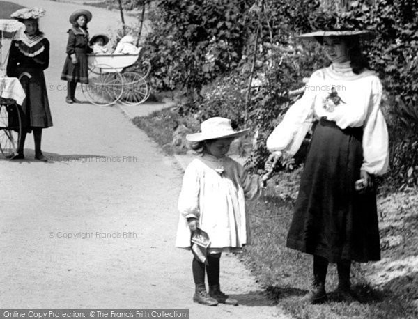Bideford, Children 1906