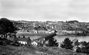 Bideford, From Across The River Torridge 1899
