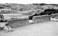 Bideford, From Chudleigh Fort c.1955