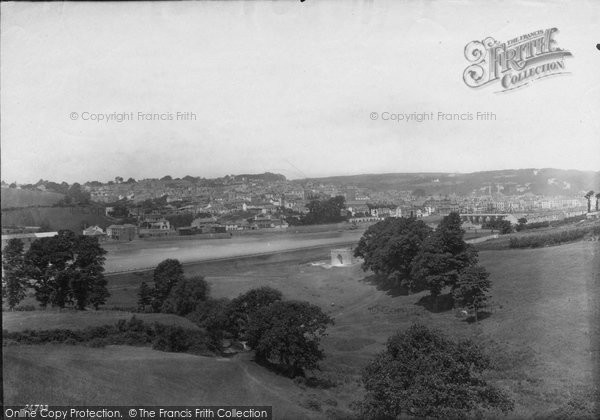 Bideford, From Round Hill 1890