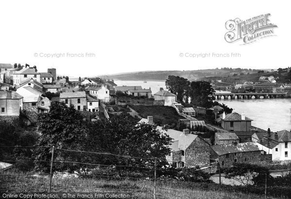 Bideford, From Tower 1890