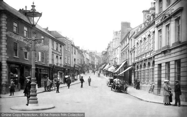 Photo of Bideford, High Street 1919
