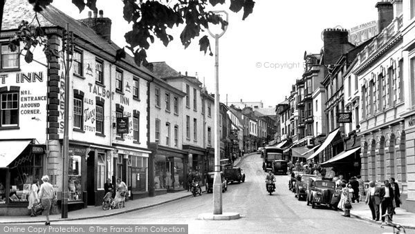 Bideford, High Street 1953