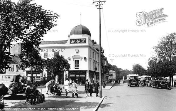 Bideford, Promenade 1929