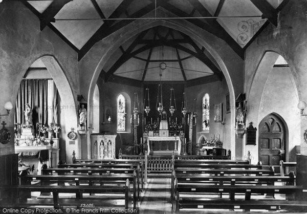 Bideford, R.C Church Interior 1907