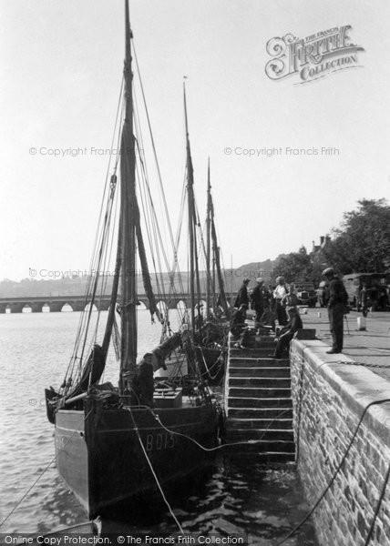 Bideford, Skiffs 1933