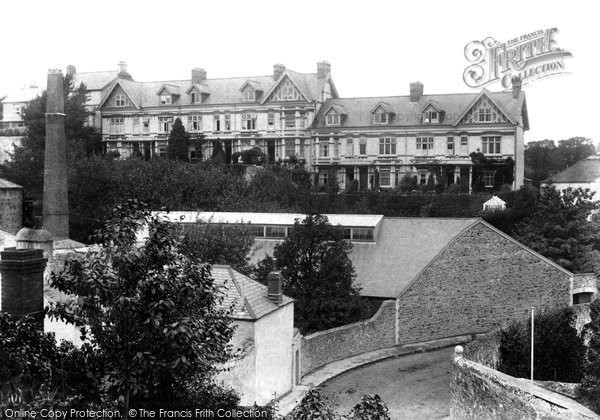 Bideford, South View Terrace 1907