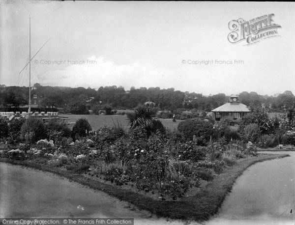 Bideford, The Gardens 1919