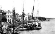 Bideford, the Quay 1890
