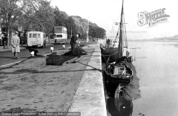 Bideford, The Quay c.1955