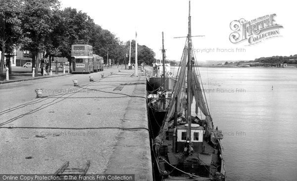 Bideford, The Quay c.1955