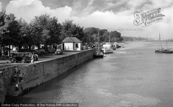 Bideford, The Quay c.1961