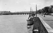 Bideford, The Quayside c.1962