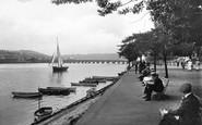 Bideford, The River Bank 1919
